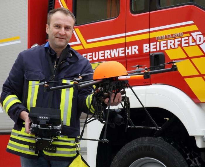 Einsatzkonzept Flugdrohne der FF Beierfeld
